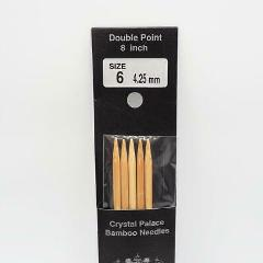 Crystal Palace Bamboo Double Point Knitting Needles 8 Inch US ...