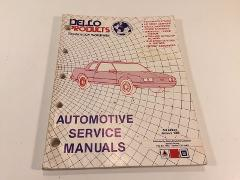 Vintage Delco Products Automotive Service Manuals 3rd Edition ...