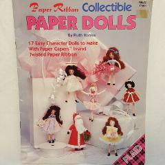 Paper Dolls Ribbon Collectible Booklet 8822 17 Character Proj...
