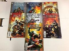 Deathlok The Demolisher #1 2 3 4 5 6 7 Comic Book Set Marvel K...