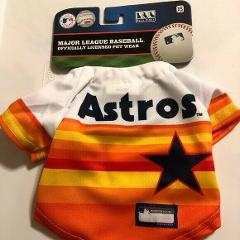 HOUSTON ASTROS Pets First MLB Vintage Rainbow Throwback Pet Je...