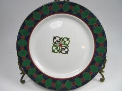 Pfaltzgraff AMALFI CLASSIC Salad Plate/s Blue Green