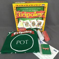 Tripoley Deluxe Mat Version By Cadaco 2005 Edition Complete Ne...