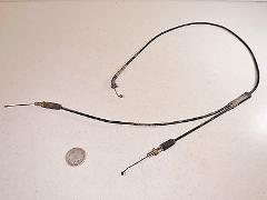 78 SUZUKI TS250 THROTTLE/OIL INJECTION PUMP CABLE