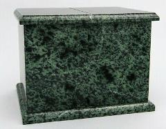 Extra Large 420 Cubic Inches Green Natural Marble Companion Cr...