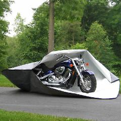 Brand NEW Shelter It Fabric Motorcycle Fortress Cover - Gray 1...