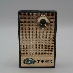 Vintage Symphonic S-62 Transistor Radio made in Japan