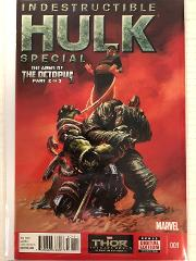 Indestructible Hulk Special #1 Comic Book Marvel 2013 The Arms...