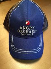 New Angry Orchard Hard Cider Hat Adjustable Embroidered Distre...