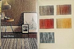 Origin 100% Wool Contemporary Style Rug Fine Stripes 3 Sizes 5...