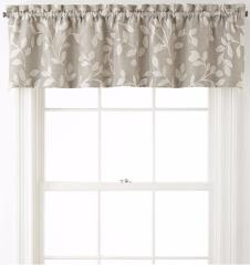 Quinn Leaf JCP Tailored Valance Rod Pocket 60x15