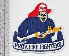 Providence Fire Department PFD 799 Providence Fire Fighters Ba...