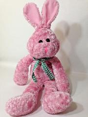 PBC Pink Easter Bunny Rabbit Plush Bunnie Stuffed Animal Bean ...