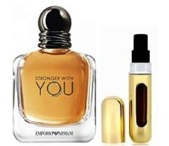 ARMANI STRONGER WITH YOU EDT 5ML IN REFILLABLE PERFUME TRAVEL ...