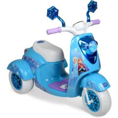 Kids 6V 3 Wheel Battery Powered Electric Ride On Scooter,Disne...