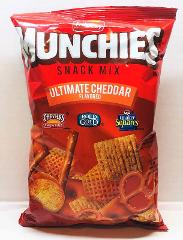 Munchies Ultimate Cheddar Flavored Snack Mix Frito Lay 8 oz