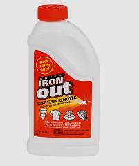 New IRON OUT PowderMulti Surface Rust Stain Remover 28oz Sink ...