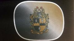 ALPHI PHI ALPHA FRATERNITY Mesh Cover Sunshade Car Rear Side W...