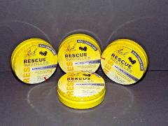 4 Tins Packs Bach Rescue Pastilles Stress Relief Black Currant...