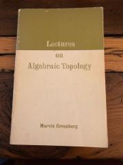 Lectures on algebraic topology (Mathematics lecture note series)