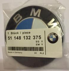 82mm BMW REPLACEMENT BONNET HOOD BOOT BADGE for E46 E60 E61 E8...