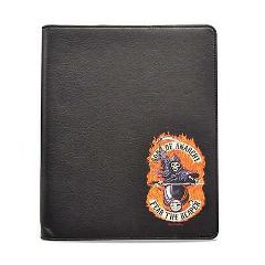 Sons of Anarchy SOA Black Faux Leather iPad 2 3 4 Folio Case ...