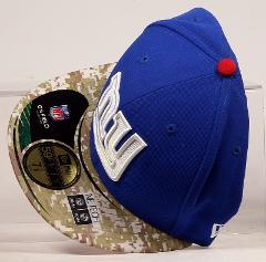 NEW YORK GIANTS SALUTE TO SERVICE NEW ERA 59 FIFTY CAMO 7 5/8 ...