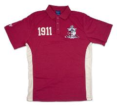 KAPPA ALPHA PSI Fraternity Short Sleeve Polo Shirt NUPE PHI NU...