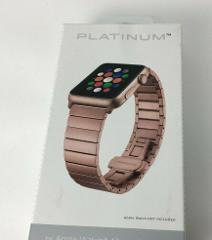 Platinum Link Band Stainless Steel Strap for Apple Watch 4 3 2...