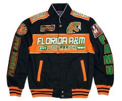 Florida A&M University Racing Jacket Florida A&M Rattlers