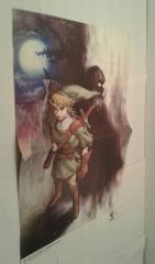 The Legend of Zelda: Twilight Princess 15.5''x11.5'' Double Si...
