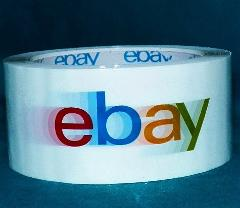 eBay Branded Packaging Shipping Tape BOPP 1 Roll 75 Yards 2 Mi...