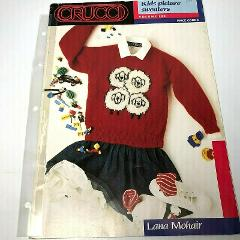 Crucci Kids Picture Sweaters Knitting Patterns Vol 100 Lambs C...