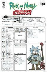 Rick and Morty vs Dungeons and Dragons #4 (of 4) Cover B Comic...