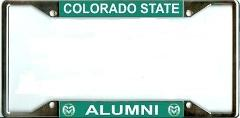 Colorado State University Alumni License Plate Frame