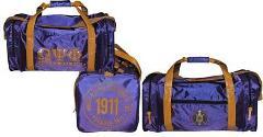 OMEGA PSI PHI Fraternity Duffle Bag Running Gym Travel Sport...