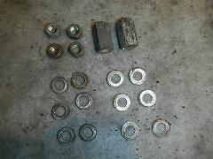 CYLINDER CYLINDER HEAD MOUNT NUTS 1986 POLARIS INDY TRAIL 488 ...