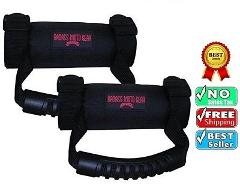 2 Pack of Badass Moto Gear ATV UTV Roll Bar Grab Handle RZR Ka...