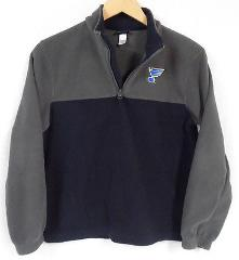 GEAR For SPORTS Youth NAVY Gray FLEECE Pullover ST. LOUIS Blue...