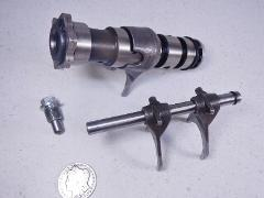 80 Kawasaki KZ750 KZ 750 LTD Gear Change Drum/Shift Forks/Stop...