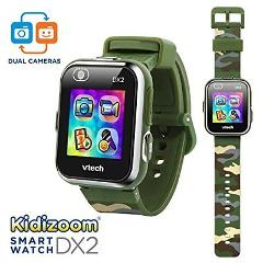 VTech Kidizoom Smartwatch DX2 - Camouflage - Online Exclusive ...