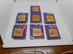 Mixed Lot of 7 Brand New Sealed Stamps Scrapbooking Art Crafts