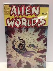 Alien Worlds #3 Comic Book Pacific 1983