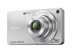 Sony DSC-W350 14.1MP Digital Camera with 4x Wide Angle Zoom wi...