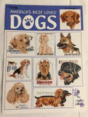 2000 Leisure Arts Americas Best Loved Dogs Cross Stitch Patter...