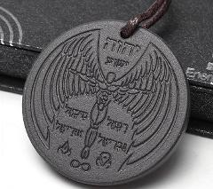 Scalar Bio Energy Quantum Angel Pendant Archangel Necklace Mag...