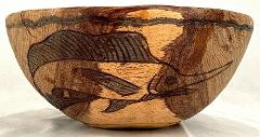 Wooden Bowl-11.5