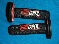 7/8 inch HANDLE BAR MX GRIP SET Maico ATK Ossa Trial Bultaco b...