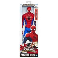 Marvel Ultimate Spiderman Web Warriors Titan Hero Series Actio...