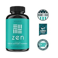 Soothing Stress Support Supplement Blend Crafted To Focused Po...